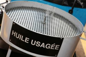 huiles usagees